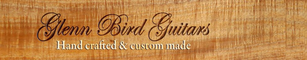 Glenn Bird Custom handmade guitars