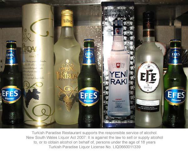 Turkish drinks